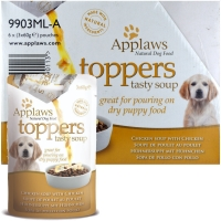Image of CASE PRICE Applaws Toppers Chicken Soup with Chicken 60g x 3 x 6