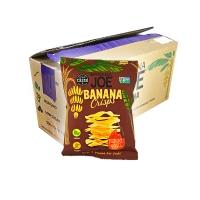 Image of CASE PRICE Banana Joe Banana Crisps Hickory BBQ 12 x 23g