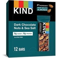 Image of SALE CASE PRICE Kind Dark Chocolate Nuts and Sea Salt Bar 12 x 40g