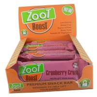 Image of CASE PRICE Zoot Boost Cranberry Choc Chip 35g x 20
