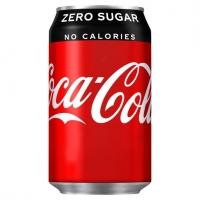 Image of TODAY ONLY Coca Cola Zero 330ml