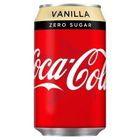 Image of TODAY ONLY Coca Cola Zero Vanilla 330ml