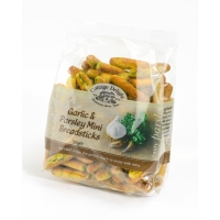 Image of CHRISTMAS COUNTDOWN Cottage Delight Garlic and Parsley Mini Breadsticks 200g