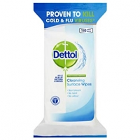 Image of Dettol Anti-Bacterial Surface Cleaning Wipes (126 Large Wipes)