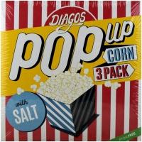 Image of Diagos Pop Up Corn with Salt 100g x 3