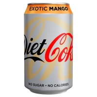 Image of TODAY ONLY Diet Coke Exotic Mango 330ml