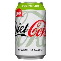 Image of Diet Coke Sublime Lime 330ml