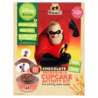 Image of Disney Incredibles Chocolate Cupcake Activity Kit 125g