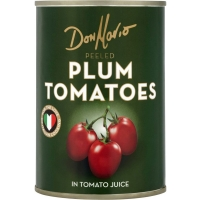 Image of Don Mario Peeled Plum Tomatoes In Tomato Juice 400g