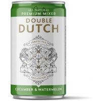 Image of 25 UNDER 25 Double Dutch Ltd Cucumber and Watermelon Flavoured Tonic Water 150ml