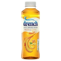 Image of TODAY ONLY Drench Juicy Spring Water Peach and Mango 500ml