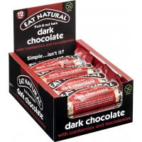 Image of Eat Natural Dark Chocolate with Cranberries and Macadamia 45g