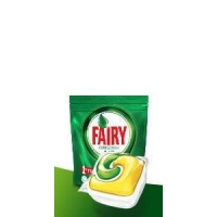Image of Fairy All in One Lemon Dishwasher Tablets 25 Capsules