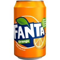 Image of TODAY ONLY Fanta Orange 330ml