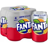 Image of MEGA DEAL Fanta Zero Fruit Twist 4 x 330ml