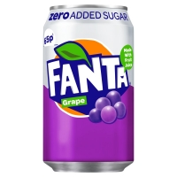 Image of Fanta Zero Grape 330ml