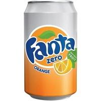 Image of Fanta Zero Orange 330ml