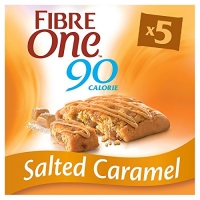 Image of Fibre One Salted Caramel Squares 5 pack