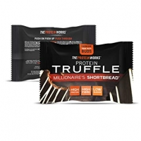 Image of The Protein Works Protein Truffle Millionaires Shortbread 40g