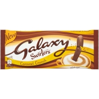 Image of Galaxy Swirlers Caramel Crunch 175g