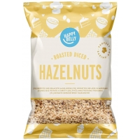 Image of Happy Belly Roasted and Diced Hazelnuts 200g
