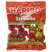 Image of Haribo Squidgy Strawbs 140g