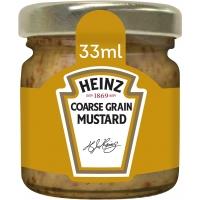 Image of Heinz Coarse Grain Mustard 33g