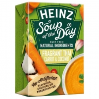 Image of Heinz Soup of the Day Fragrant Thai Carrot and Coconut 400g