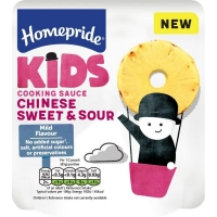 Image of Homepride Kids Chinese Sweet and Sour Cooking Sauce 170g