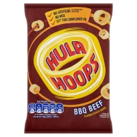 Image of Hula Hoops Big Hoops BBQ Beef Flavour 34g