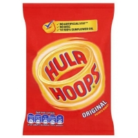 Image of Hula Hoops Original Potato Rings 34g