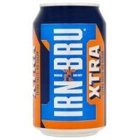 Image of Irn Bru Xtra Taste No Sugar Soft Drink Can 330ml
