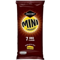 Image of TODAY ONLY Jacobs Mini Cheddars BBQ Flavour 25g x 7