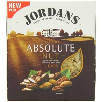 Image of Jordans Absolute Nut 3 Bars 135g