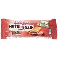 Image of Kelloggs Nutri-Grain Breakfast Strawberry Fruity Bar 37g