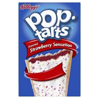 Image of Kelloggs Pop Tarts Frosted Strawberry Sensation 8 Pastries