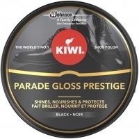 Image of 10 AT 10P Kiwi Shoe Parade Gloss Prestige Polish Tin Black 50ml