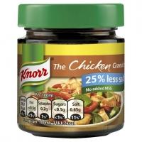 Image of Knorr The Chicken Granules Reduced Salt 120g