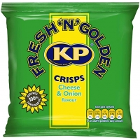 Image of SUNDAY SPECIAL Kp Crisps Cheese and Onion Flavour 25g