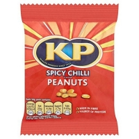 Image of Kp Spicy Chilli Flavour Peanuts 50g