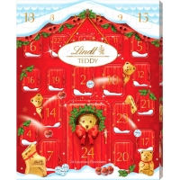 Image of Lindt Adorable Bear and Friends Advent Calendar 250g