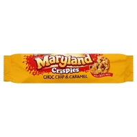 Image of Maryland Crispies Choc Chip and Caramel Cookies 145g