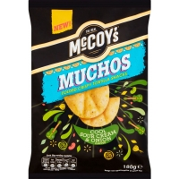 Image of Mccoys Muchos Cool Sour Cream and Onion Flavour 180g