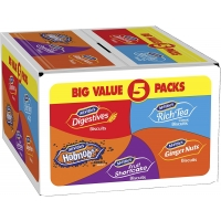 Image of McVities Every Day Favourites Biscuits Selection Pack of 5
