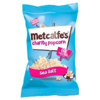 Image of Metcalfes Charity Popcorn Sea Salt Flavour 20g