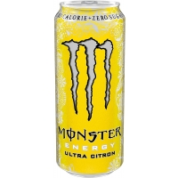 Image of 10 AT 10P Monster Ultra Citron Energy Drink 500ml