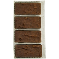 Image of TODAY ONLY Mrs Crimbles 4 Big Belgian Choc Brownies 190g