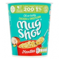 Image of Mug Shot Chicken and Sweetcorn Noodles 54g