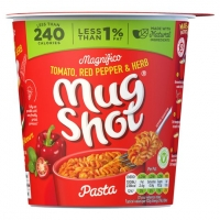 Image of Mug Shot Tomato Red Pepper and Herb 68g