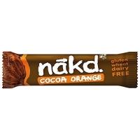 Image of SALE Nakd Cocoa Orange Gluten Free Bar 35 g